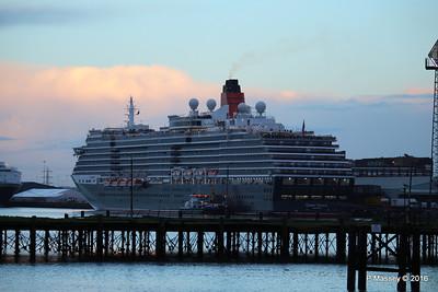 QUEEN VICTORIA over Royal Pier Southampton PDM 10-01-2016 08-31-32