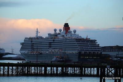 QUEEN VICTORIA over Royal Pier Southampton PDM 10-01-2016 08-31-19