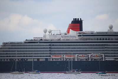QUEEN VICTORIA Departing Southampton PDM 10-05-2016 17-43-38