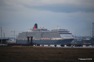 QUEEN VICTORIA Departing Southampton PDM 10-05-2016 17-37-050