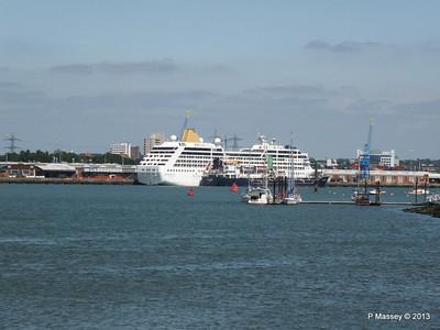 ADONIA berth 106 Southampton PDM 01-06-2013 15-06-23