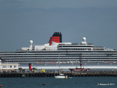QUEEN VICTORIA over Ocean Terminal PDM 01-06-2013 15-36-45