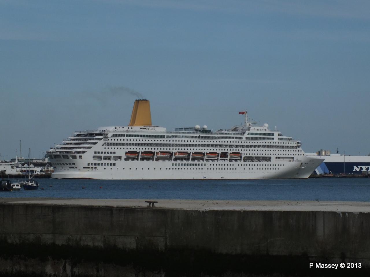 ORIANA Departing Southampton PDM 27-05-2013 17-11-41