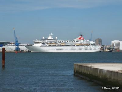 BALMORAL Departing Southampton PDM 27-05-2013 16-36-44