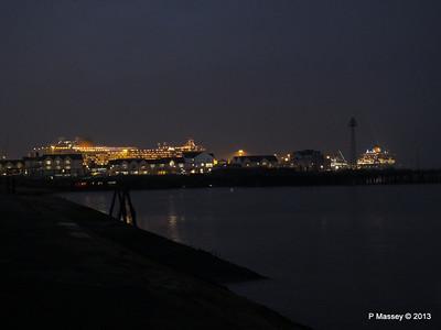 AZURA QM2 SAGA RUBY over Town Quay PDM 10-01-2013 17-54-42