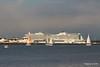 sys AIDAprima over Town Quay Southampton PDM 27-04-2016 19-05-43