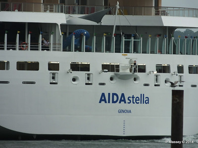AIDAstella Departs Southampton PDM 26-06-2014 20-09-10