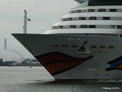 AIDAstella Departs Southampton PDM 26-06-2014 20-02-50