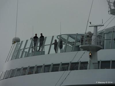 AIDAstella Departs Southampton PDM 26-06-2014 20-02-00