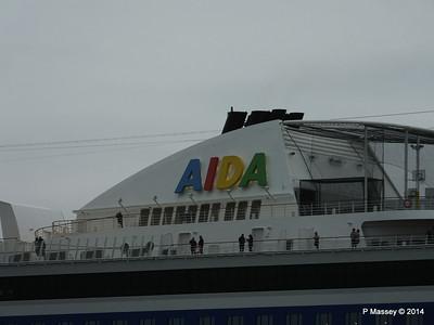 AIDAstella Departs Southampton PDM 26-06-2014 20-07-33