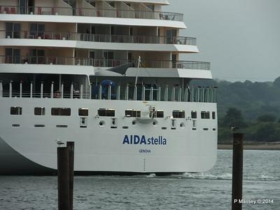 AIDAstella Departs Southampton PDM 26-06-2014 20-09-12