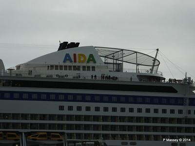 AIDAstella Departs Southampton PDM 26-06-2014 20-05-38