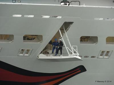 AIDAstella Departs Southampton PDM 26-06-2014 20-02-43