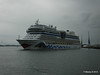 AIDAstella Departs Southampton PDM 26-06-2014 20-02-35