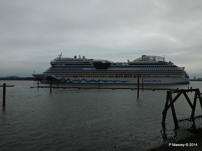 AIDAstella Departs Southampton PDM 26-06-2014 20-06-00