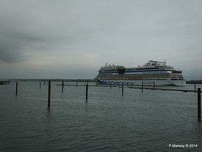 AIDAstella Departs Southampton PDM 26-06-2014 20-08-11