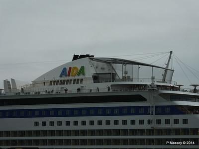 AIDAstella Departs Southampton PDM 26-06-2014 20-07-29
