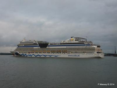 AIDAstella Departing Southampton PDM 29-05-2014 20-19-13