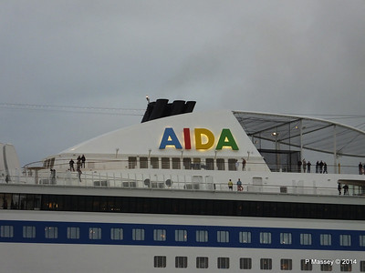 AIDAstella Departing Southampton PDM 29-05-2014 20-17-53