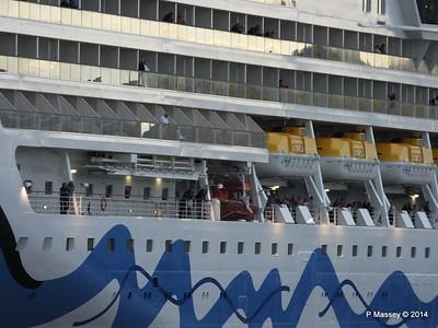 AIDAstella Departing Southampton PDM 29-05-2014 20-15-21