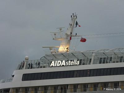 AIDAstella Departing Southampton PDM 29-05-2014 20-19-00