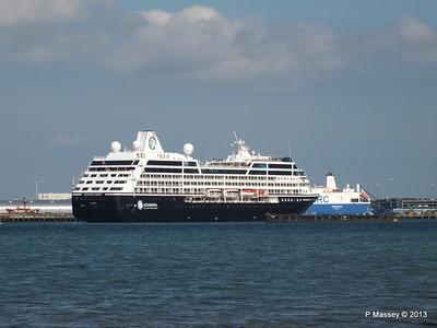 AZAMARA QUEST Departs Southampton PDM 10-06-2013 17-08-02