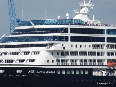 AZAMARA QUEST Departs Southampton PDM 10-06-2013 16-59-42