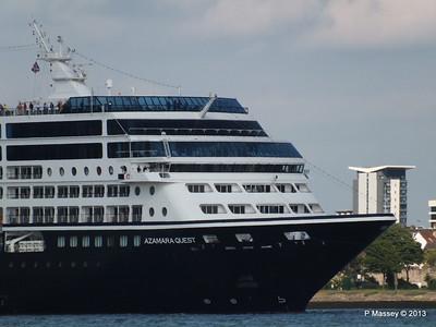AZAMARA QUEST Departs Southampton PDM 10-06-2013 17-03-09