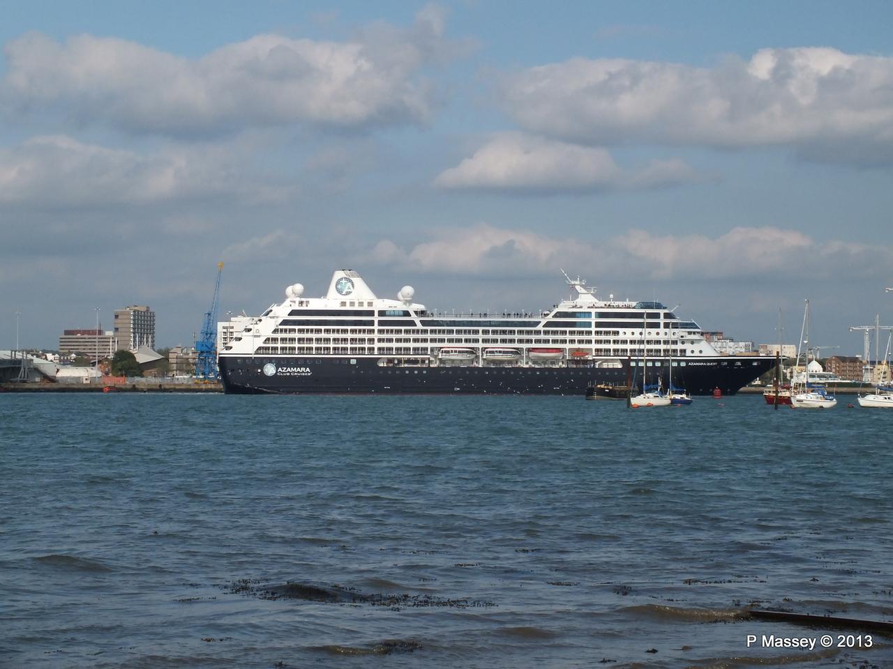 AZAMARA QUEST Departs Southampton PDM 10-06-2013 17-05-01