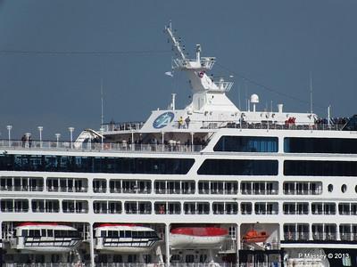 AZAMARA QUEST Departs Southampton PDM 10-06-2013 17-07-13