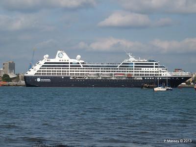 AZAMARA QUEST Departs Southampton PDM 10-06-2013 17-04-55
