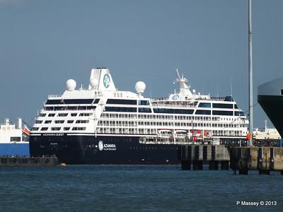 AZAMARA QUEST Departs Southampton PDM 10-06-2013 17-09-08