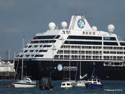 AZAMARA QUEST Departs Southampton PDM 10-06-2013 17-06-59
