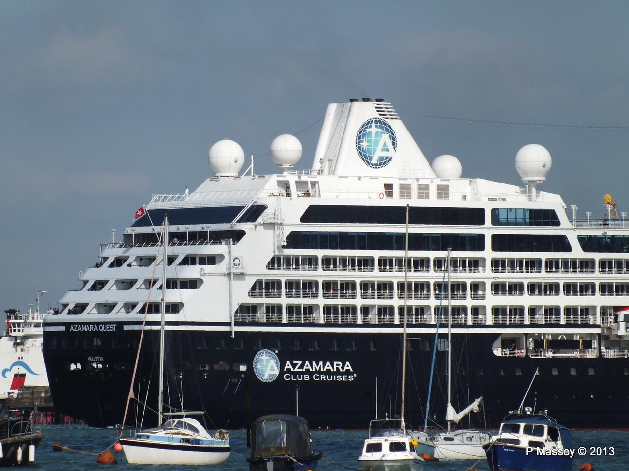 AZAMARA QUEST Departs Southampton PDM 10-06-2013 17-06-56