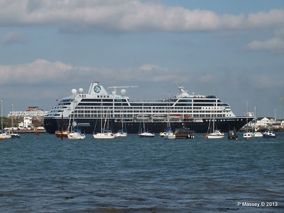 AZAMARA QUEST Departs Southampton PDM 10-06-2013 17-06-13