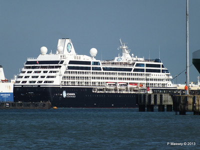 AZAMARA QUEST Departs Southampton PDM 10-06-2013 17-09-03