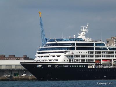 AZAMARA QUEST Departs Southampton PDM 10-06-2013 16-59-47