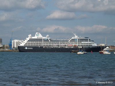 AZAMARA QUEST Departs Southampton PDM 10-06-2013 17-05-08