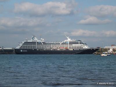 AZAMARA QUEST Departs Southampton PDM 10-06-2013 17-04-11