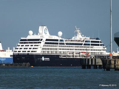 AZAMARA QUEST Departs Southampton PDM 10-06-2013 17-09-06