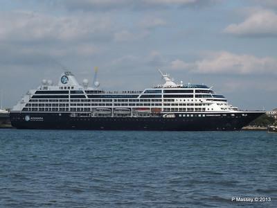 AZAMARA QUEST Departs Southampton PDM 10-06-2013 17-03-48