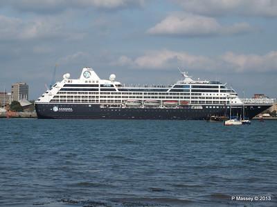 AZAMARA QUEST Departs Southampton PDM 10-06-2013 17-04-52