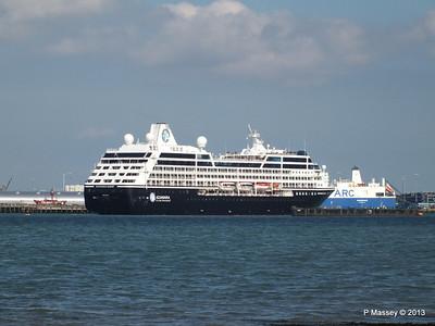 AZAMARA QUEST Departs Southampton PDM 10-06-2013 17-07-59
