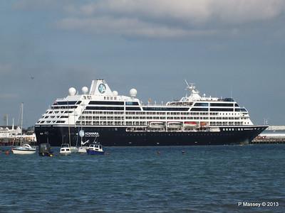 AZAMARA QUEST Departs Southampton PDM 10-06-2013 17-07-03