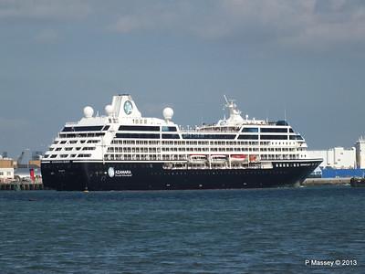 AZAMARA QUEST Departs Southampton PDM 10-06-2013 17-07-42