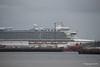 CARIBBEAN PRINCESS Over Town Quay Southampton PDM 20-05-2016 17-13-02