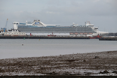 CARIBBEAN PRINCESS Over Town Quay Southampton PDM 20-05-2016 17-13-11