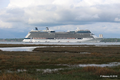 CELEBRITY ECLIPSE Departing Southampton PDM 10-05-2016 16-55-01