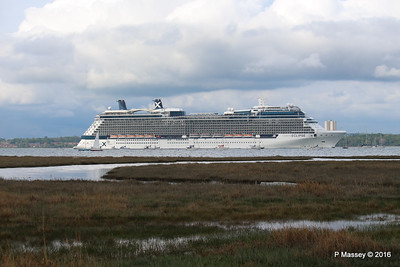 CELEBRITY ECLIPSE Departing Southampton PDM 10-05-2016 16-55-03