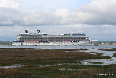CELEBRITY ECLIPSE Departing Southampton PDM 10-05-2016 16-56-03